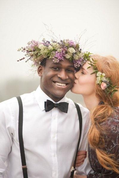 Top 50 Floral Crowns | Flowers In Her Hair
