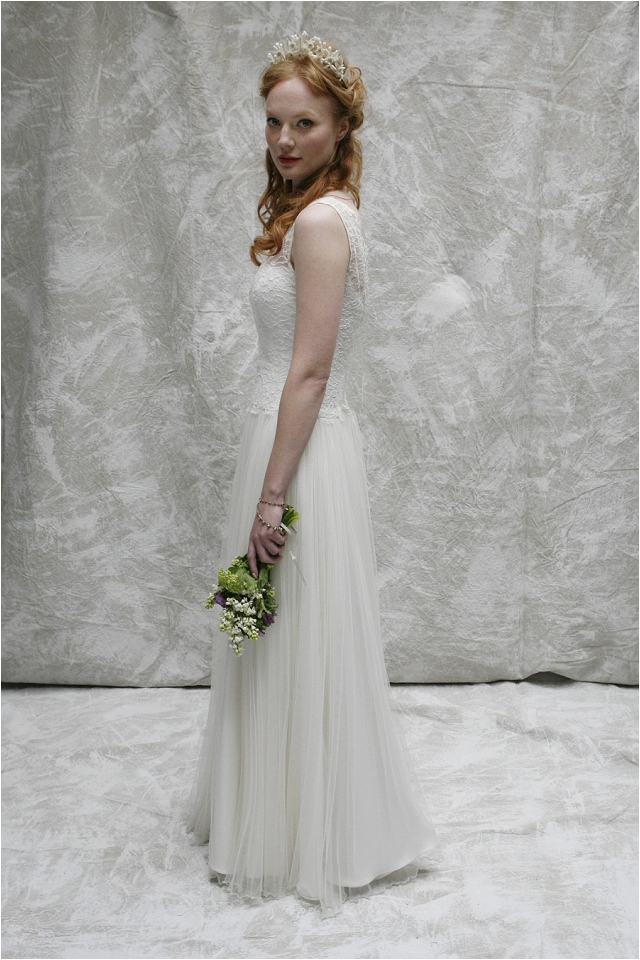 Vintage Inspired Wedding Gowns   Sumptuous Silks and Lace