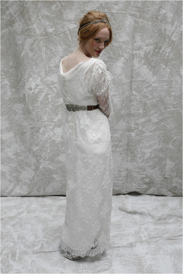Vintage Inspired Wedding Gowns | Sumptuous Silks and Lace