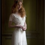 1920's, the artistic sensibility of Edwardian bohemia, through to the elegance and femininity of the 1950's, her vision is one of respect for time-honoured skills combined with romantic vintage appeal.