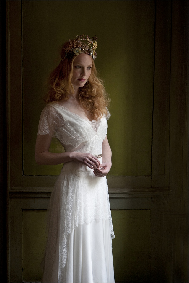 Vintage Inspired Bridal Gowns | Modern Bridal Elegance Sally Lacock