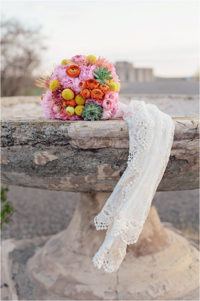 Wedding Colours | Pale Aqua, Pink, Orange and Yellow