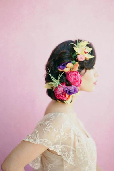 Top 50 Floral Crown Ideas + Styles | Flowers In Her Hair
