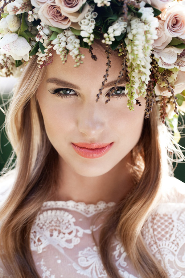 Top 50 Floral Crowns | Flowers In Her Hair