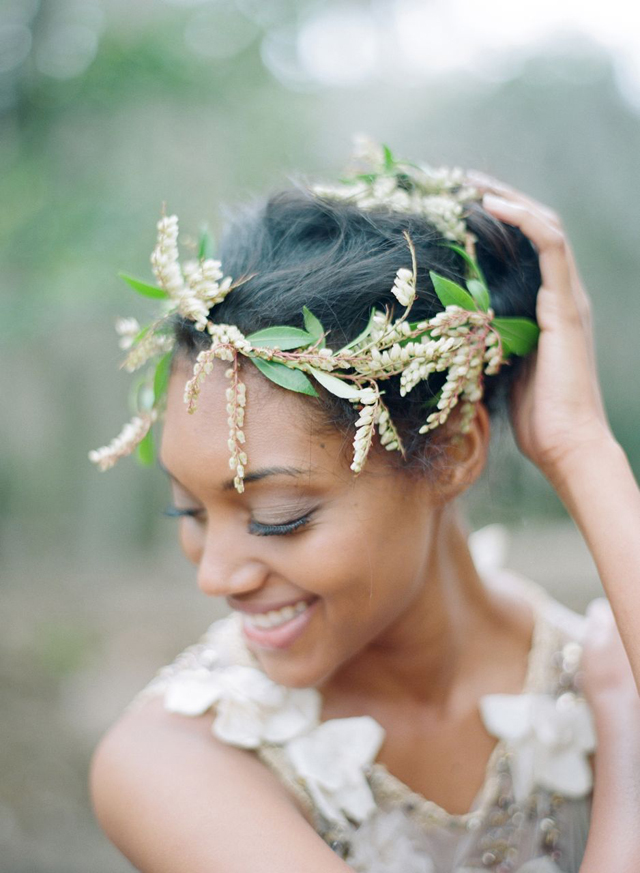 Top 50 Floral Crown Ideas + Styles | Flowers In Her Hair