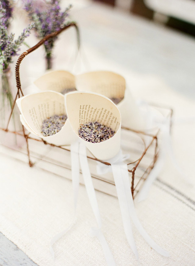 Beautiful Lavender Wedding Inspiration