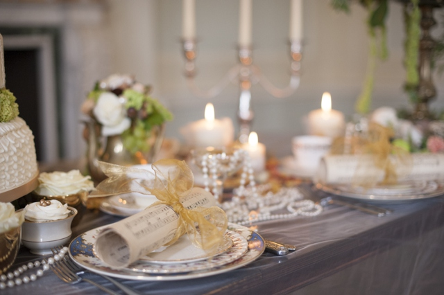 Opulent & Romantic Rococo Styled Wedding Inspiration
