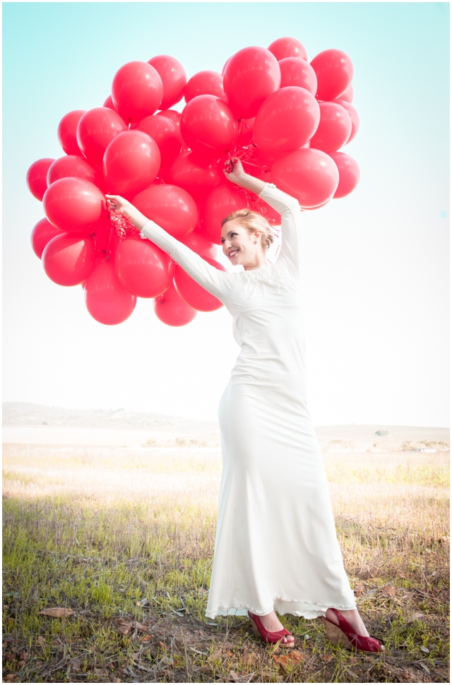 99 Red Balloons | Styled Bridal Shoot