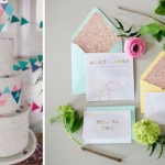 geometric wedding inspiration & ideas