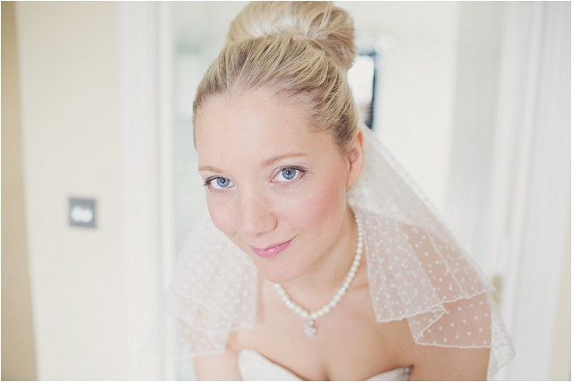 Green, White & Grey | Apple & Subtle Polka Dots Real Wedding