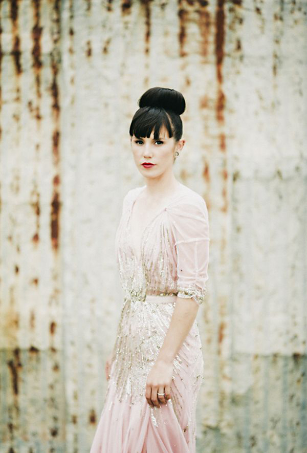 The Palest Of Pinks   Wedding Inspiration: Colours: Pale Pink Jenny Packham