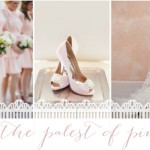 The Palest Of Pinks | Wedding Inspiration: Colours
