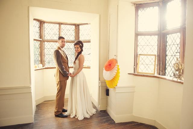 Scotney Castle Golden Glory Wedding Styled Shoot by Rebecca Douglas Photography 0200