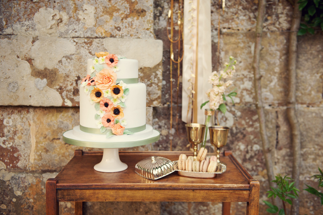 Scotney Castle Golden Glory Wedding Styled Shoot by Rebecca Douglas Photography 0289