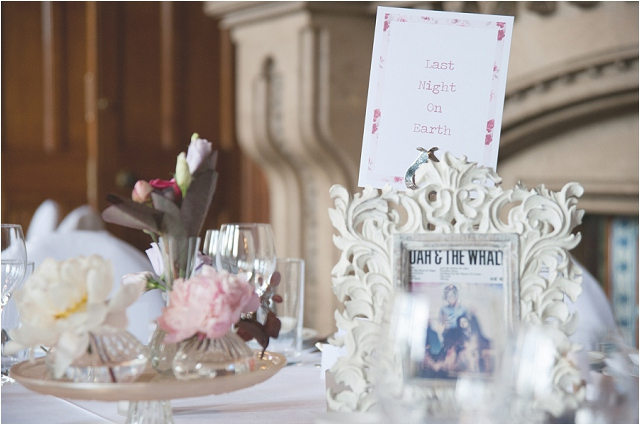 Grand Town Hall Real Wedding With Art Deco Style Dress, Mint Green Bridal Shoes & Converse