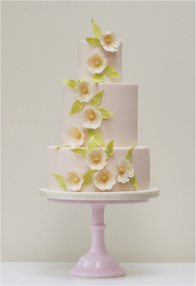Blush Flowers wedding cake - Exclusive To Harrods | Wedding Cakes From Talented Rosalind Miller