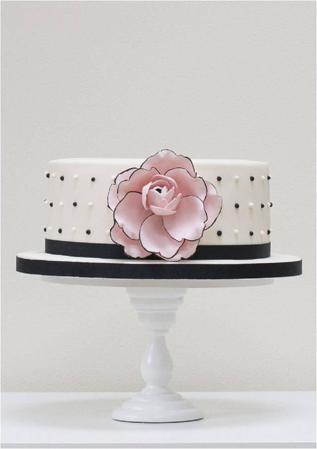 Chanel Camelia - Exclusive To Harrods   Wedding Cakes From Talented Rosalind Miller