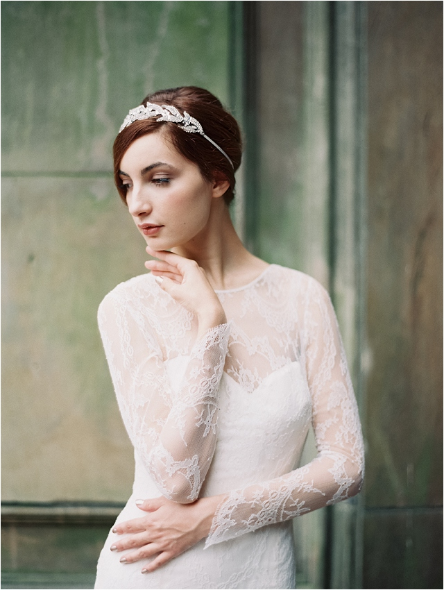 Lady Mary Headband, photo by Laura Gordon