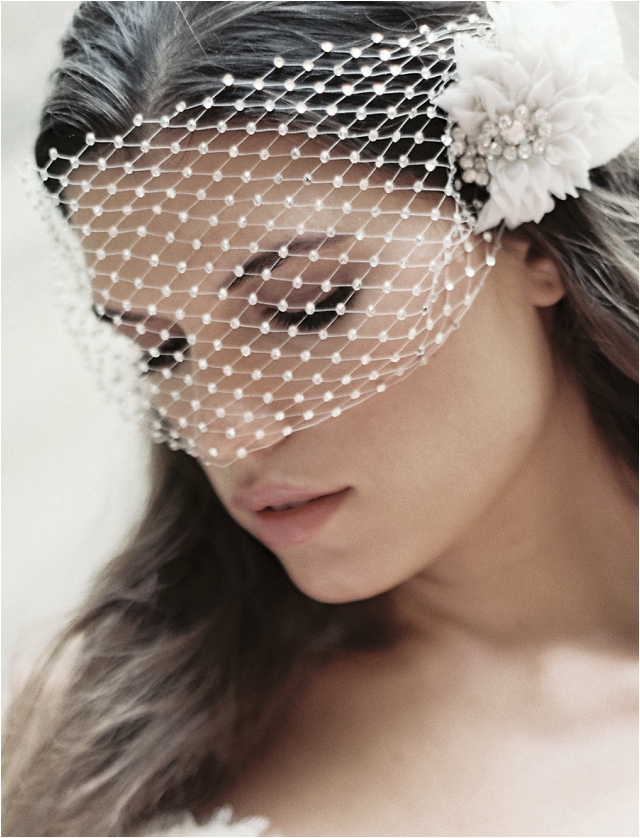 Marie Luxe Veil, photo by Laura Gordon