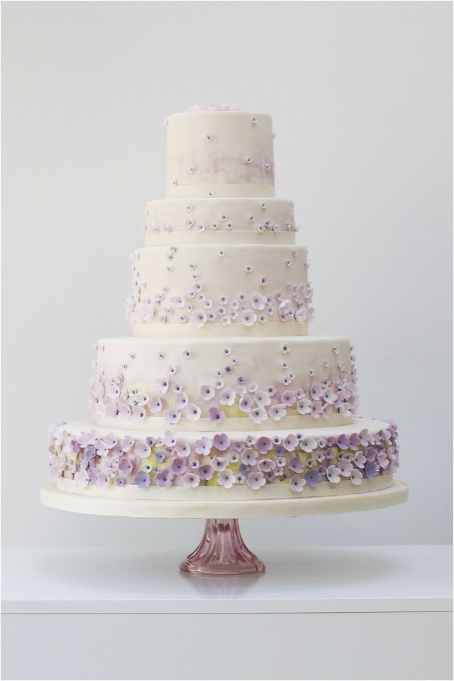Monet's Garden wedding cake -Exclusive To Harrods | Wedding Cakes From Talented Rosalind Miller
