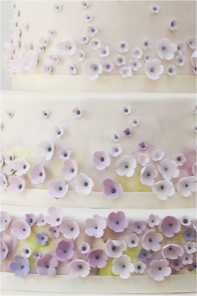 Monet's Garden wedding cake - Exclusive To Harrods   Wedding Cakes From Talented Rosalind Miller