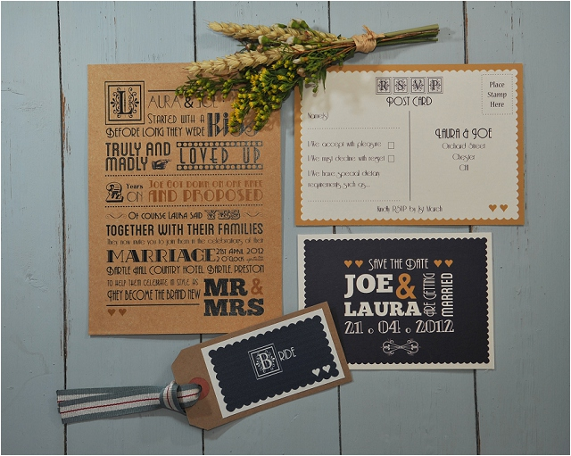 PaperGrace - Once Upon A Time wedding stationery