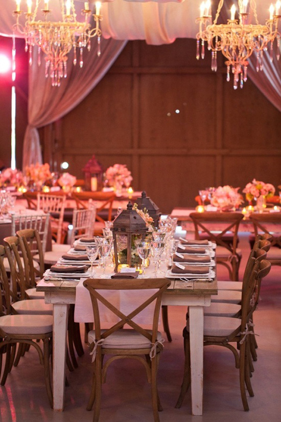 Reception Decor Ideas - Chandaliers