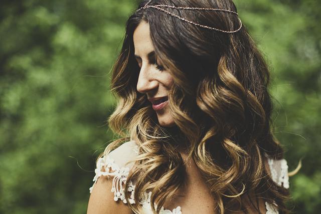 Gorgeous Claire Pettibone Bride With Boho Head Jewellery