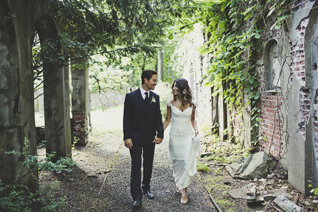 Gorgeous Claire Pettibone Bride & Groom