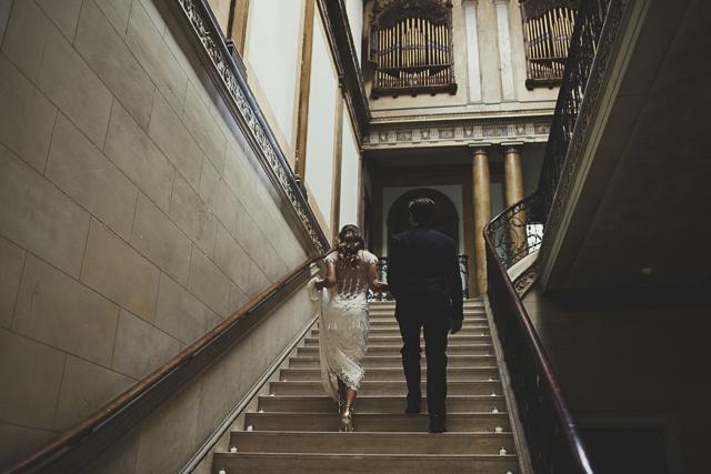 Gorgeous Claire Pettibone Bride & Groom