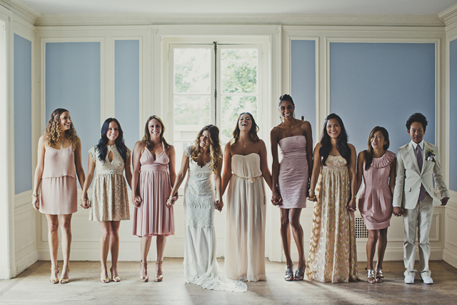 Gorgeous Claire Pettibone Bride & Bridal Party