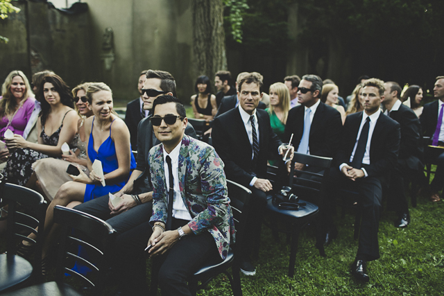 cool wedding guests