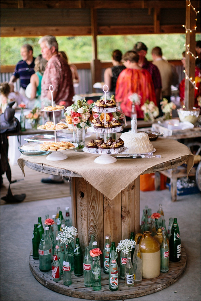 A rustic & intimate 'leave your shoes at the door' kinda real wedding