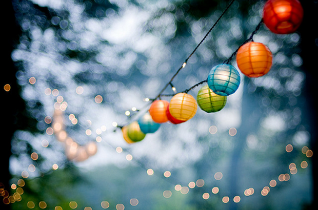 Min light lanterns - 30 Amazing Wedding Ceremony & Reception Decoration Ideas