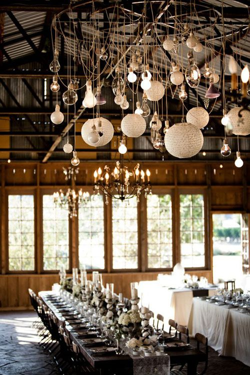 various hanging lights