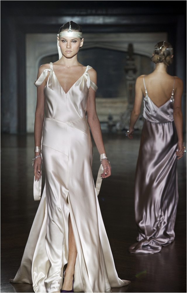 Art Deco Inspired | Johanna Johnson 2014 'Muse' Collection: Beautiful Bridal Gowns