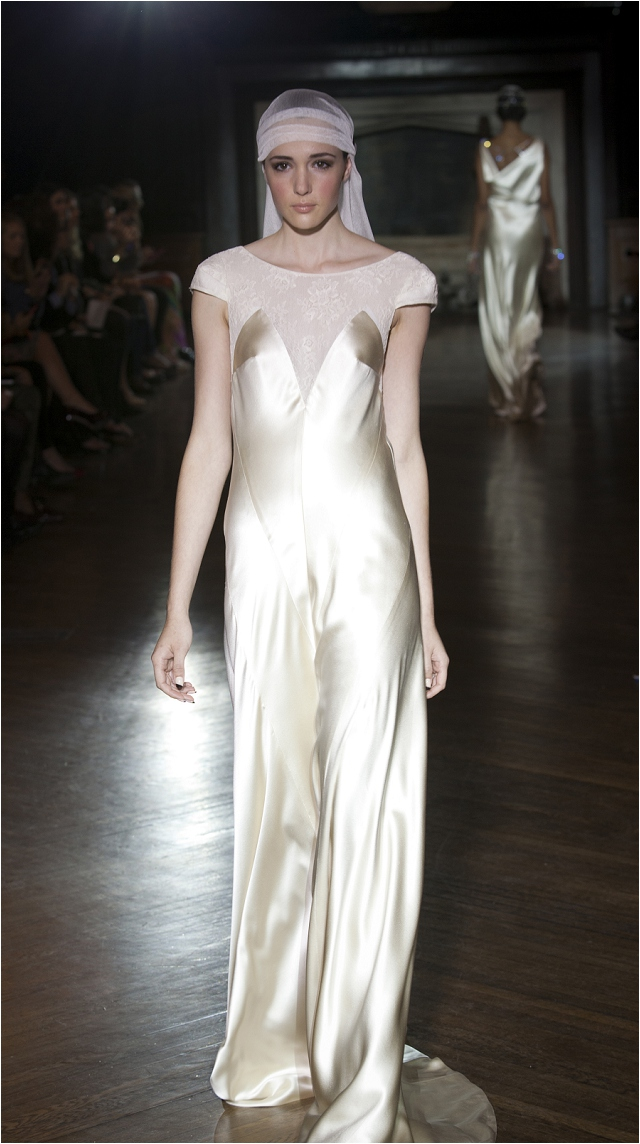 Art Deco Inspired   Johanna Johnson 2014 'Muse' Collection: Beautiful Bridal Gowns