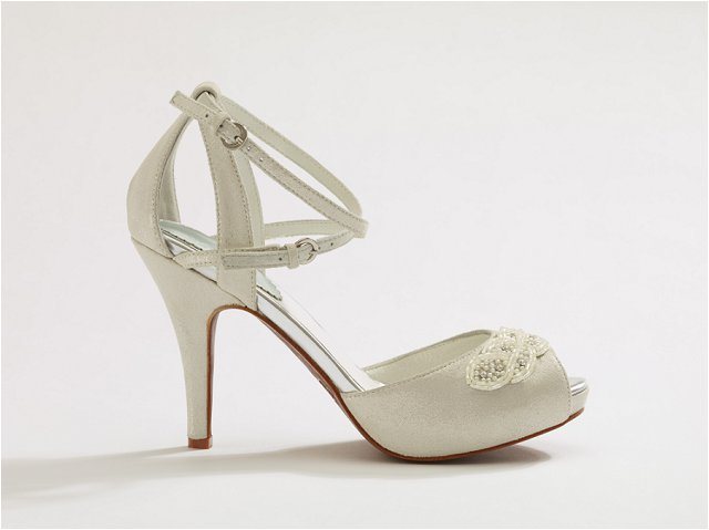 Myrtle | Super Chic Wedding Shoes You Can Wear Again and Again | Merle & Morris Luxury Bridal Shoes