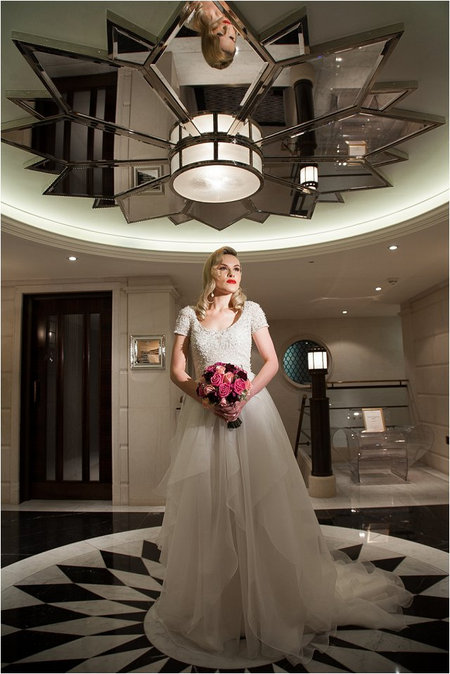 Opulent Splendor A 1950s Hollywood Glamour Inspired Bridal Shoot_0025