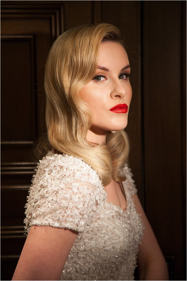 Opulent Splendor A 1950s Hollywood Glamour Inspired Bridal Shoot_0033