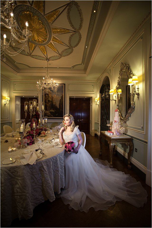 Opulent Splendor A 1950s Hollywood Glamour Inspired Bridal Shoot_0036
