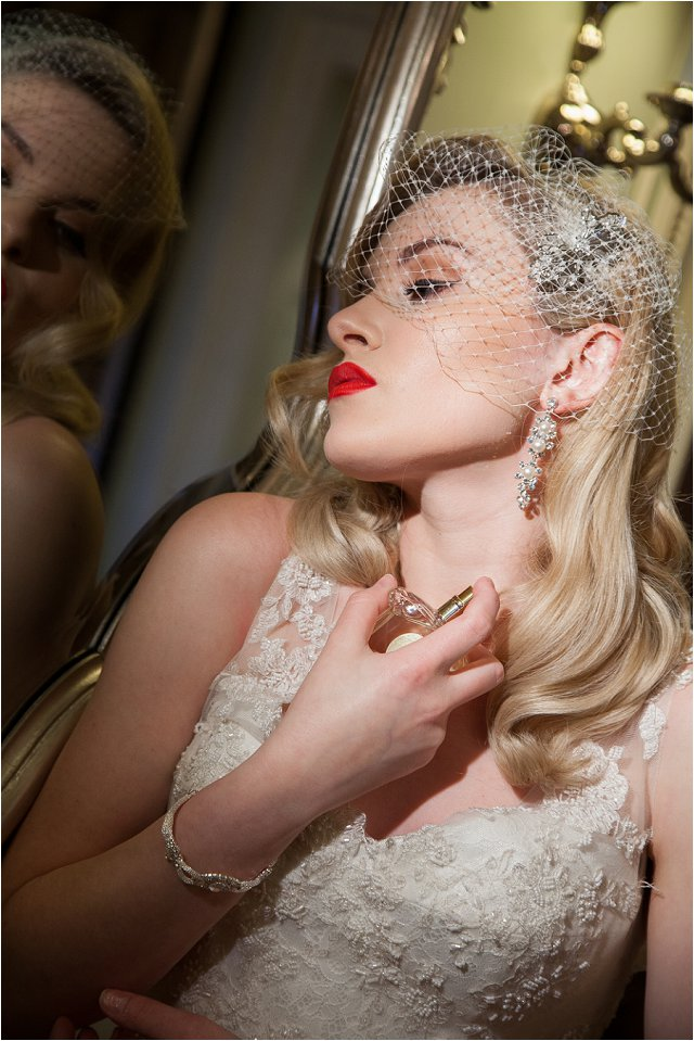Opulent Splendour A 1950s Hollywood Glamour Inspired Bridal Shoot_0041