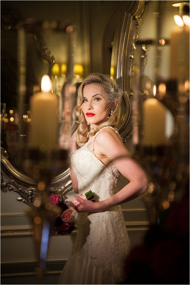 Opulent Splendor A 1950s Hollywood Glamour Inspired Bridal Shoot_0043
