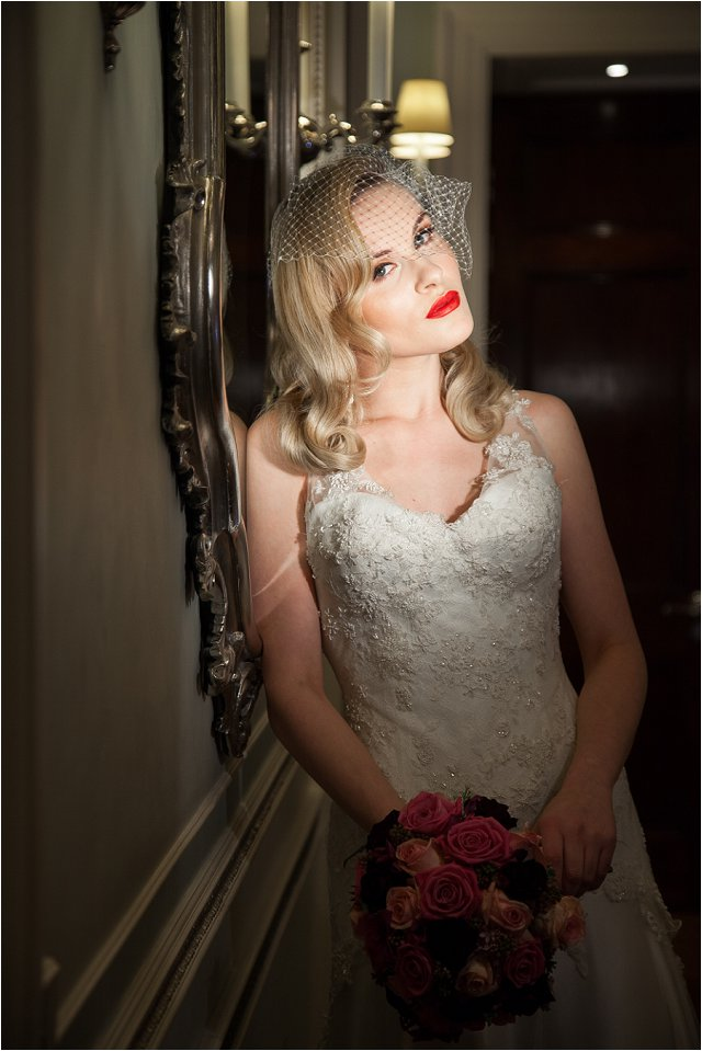 Opulent Splendor A 1950s Hollywood Glamour Inspired Bridal Shoot_0044