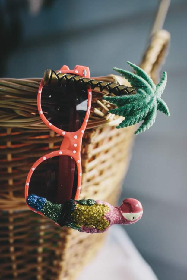 A Subtle Vintage & Polka Dot Themed Beach-side Wedding