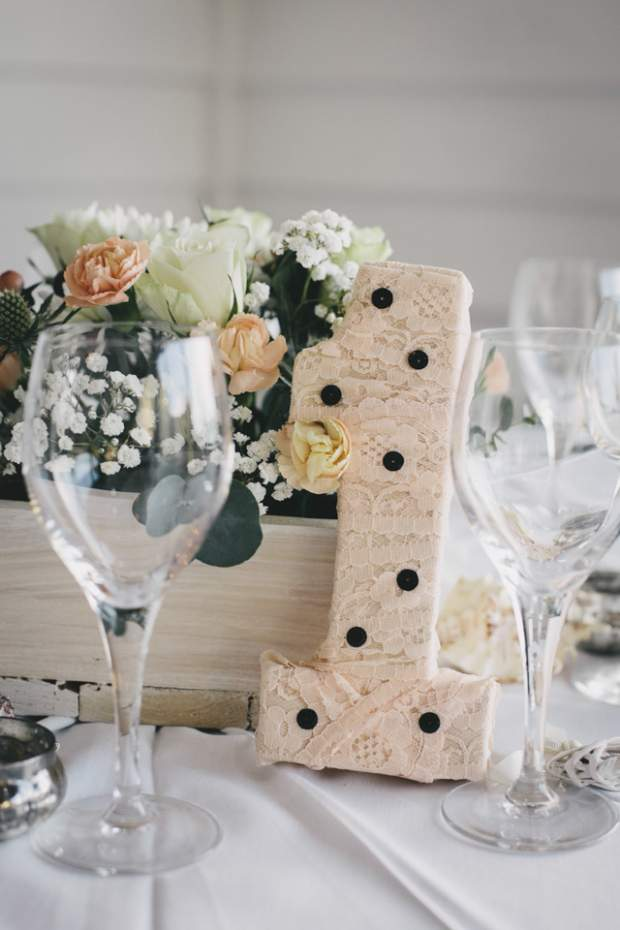 A Subtle Vintage & Polka Dot Themed Beach-side Wedding