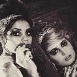 Gorgeously Dark and Glamorous Masked Shoot. A Masquerade Bride!