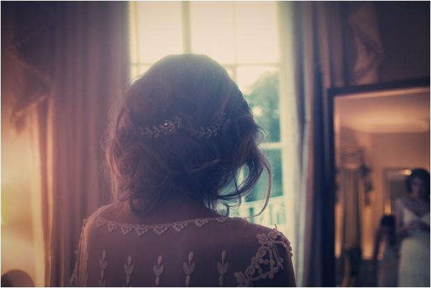 14. Bride hair
