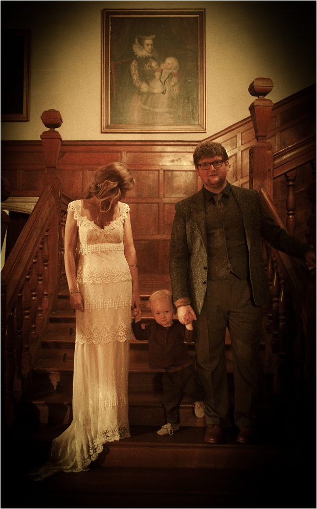 73. Family- staircase