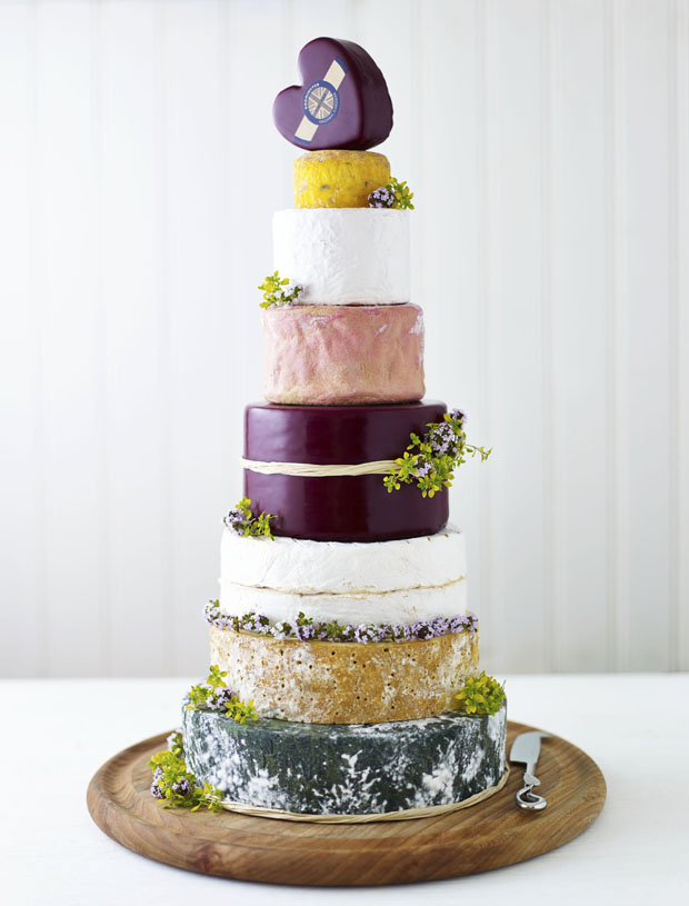 Alternative Wedding Cake Idea | The Prettiest Cheese Cake Ever!